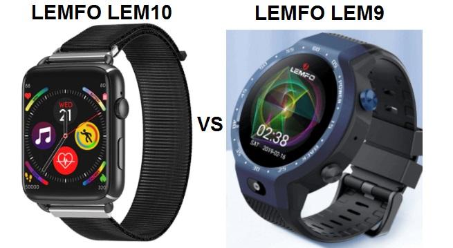 LEMFO LEM10 VS LEMFO LEM9 Smartwatch