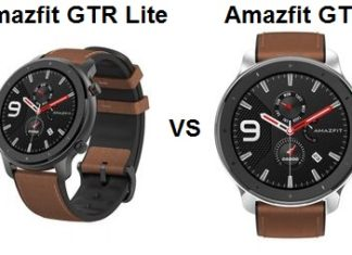 Amazfit GTR Lite VS GTR Smartwatch