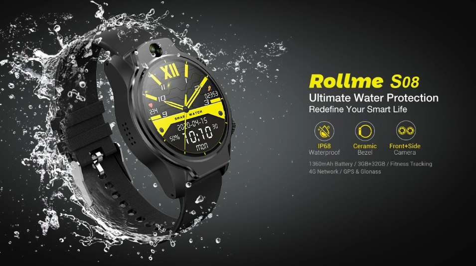 Rollme S08 Android watch