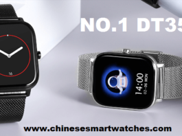 NO.1 DT35 SmartWatch