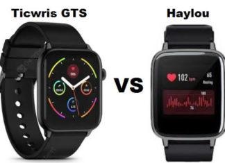 Ticwris GTS VS Haylou LS02
