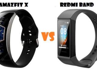 Amazfit X VS Xiaomi Redmi Band