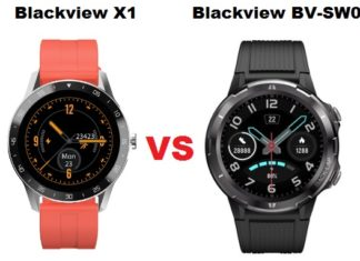 Blackview X1 VS Blackview BV-SW02