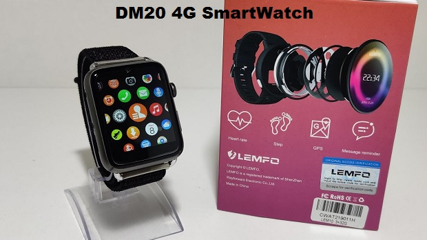 SENBONO DM20 4G Smart Watch