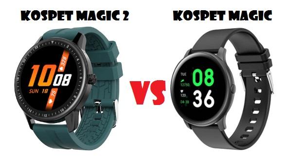 Kospet Magic 2 VS Kospet Magic Smartwatch