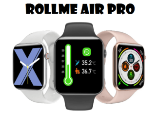 Rollme Air Pro SmartWatch