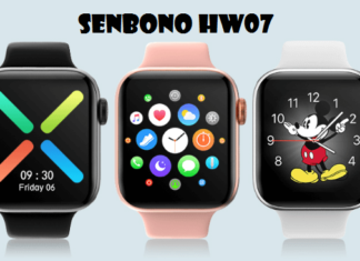SENBONO HW07 SmartWatch
