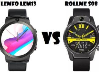 LEMFO LEM13 VS Rollme S08