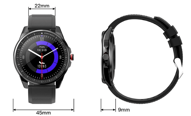 TICWRIS RS Watch