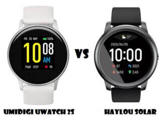 Umidigi Uwatch 2S VS Haylou Solar