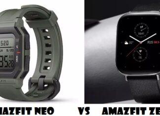 Amazfit Neo Vs Amazfit Zepp E Smartwatch