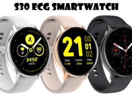 LEMFO S30 ECG SmartWatch
