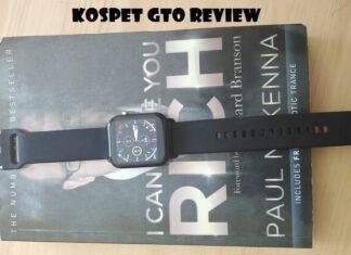 Kospet GTO smartwatch review