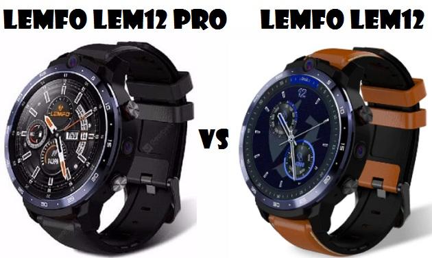 LEMFO LEM12 PRO VS LEMFO LEM12