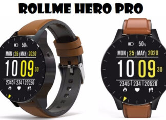 Rollme Hero Pro Smartwatch