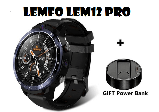 LEMFO LEM12 PRO Smartwatch With 4GB/64GB and Android 10