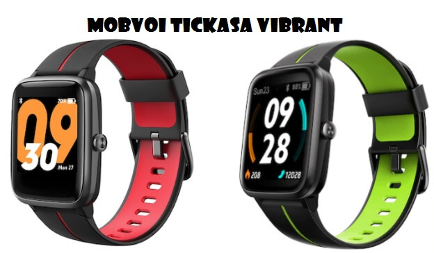Mobvoi TicKasa Vibrant GPS smartwatch