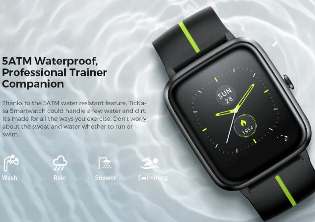 Mobvoi TicKasa GPS smartwatch