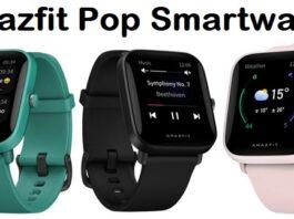 Amazfit Pop Smartwatch