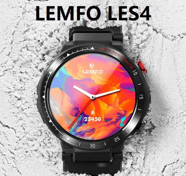 LEMFO LES4 4G SmartWatch