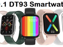 NO.1 DT93 SmartWatch