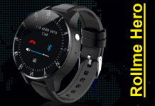Rollme Hero 4G smartwatch