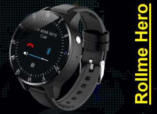Rollme Hero 4G smartwatch