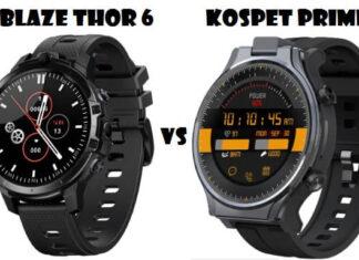 Zeblaze Thor 6 VS Kospet Prime 2