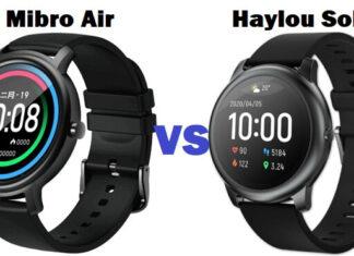 Xiaomi Mibro Air vs haylou solar smartwatch
