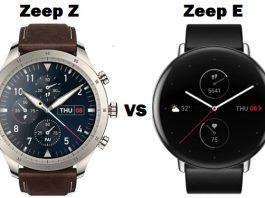 Zeep Z VS Zeep E SmartWatch