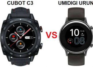 Cubot C3 VS Umidigi Urun SmartWatch