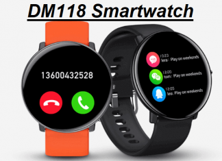 DM118 SmartWatch With Body Temperature