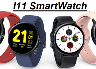 I11 SmartWatch With Bluetooth Calling Under $20