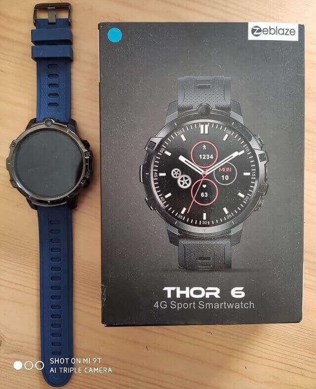 zeblaze Thor 6 box