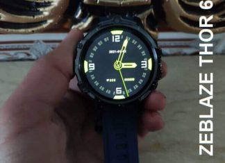 Zeblaze Thor 6 4G Smartwatch Review