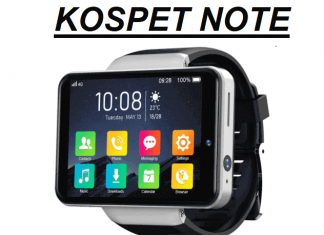 KOSPET NOTE 4G SmartWatch