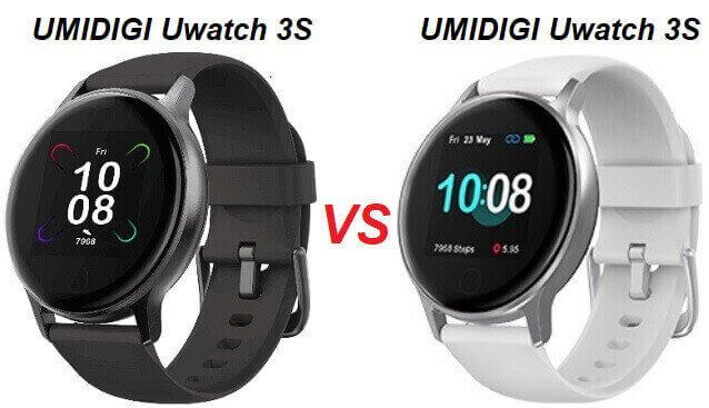 UMIDIGI Uwatch 3S VS Uwatch 2S Comparison