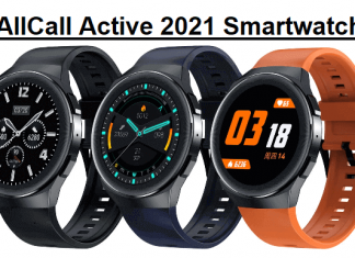 AllCall Active 2021 Smartwatch