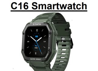C16 SmartWatch 2021