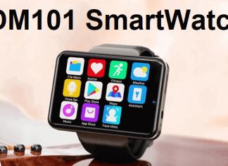 DM101 4G SmartWatch