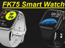 FK75 SmartWatch 2021