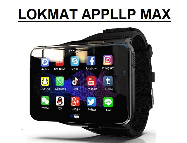 LOKMAT APPLLP Max 4G Smartwatch