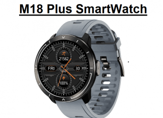 M18 Plus SmartWatch
