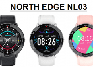 NORTH EDGE NL03 SmartWatch 2021