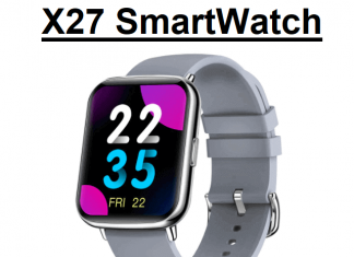 Senbono X27 smartwatch