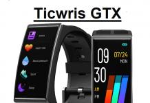 TICWRIS GTX smartwatch