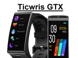 TICWRIS GTX smartwatch