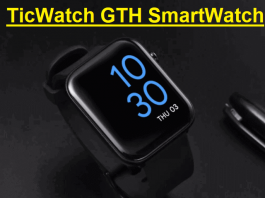 TicWatch GTH SmartWatch