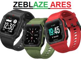 Zeblaze Ares SmartWatch 2021