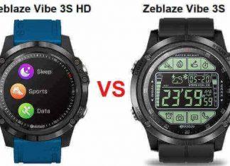 Zeblaze Vibe 3S HD VS Vibe 3S SmartWatch